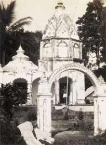 Hindu temple in Trinidad, 1931
